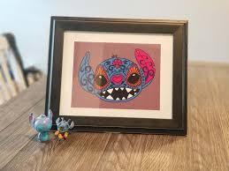 Design A Sugar Skull Online Stitch Sugar Skull Art Print Squiddle Design Online