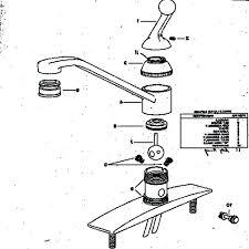 faucets delta faucet repair parts diagram amazing delta faucet parts list and diagram intended for