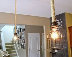 lighting nautical rope pendant light shade chandelier kit nz cord astonishing diy original industrial lights