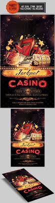 17 best ideas about flyer templates casino flyer