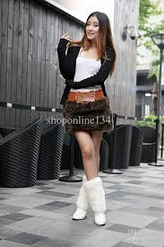 Sexy woman in boots