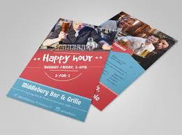 Happy Hour Flyer Middlebury Restaurant Happy Hour Flyer Template Mycreativeshop