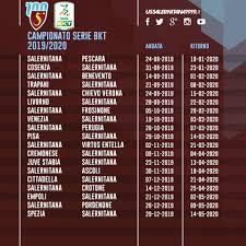 Calendario: Salernitana-Pescara all'esordio, alla terza ...