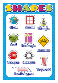 Shapes Chart Images Pictorial Shapes Smart Chart Top Notch Teacher Products Inc