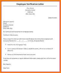 Salary Letters From Employer Proof Of Income Letters Within Salary Verification Letter Inside