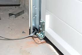 how to install a garage door garage door cables may slip off the drum install garage