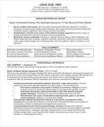 Quality Control Analyst Resumes Sample Quality Assurance Resume 9 Examples In Word Pdf