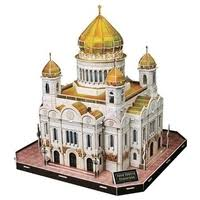 3D-пазл <b>CubicFun Храм Христа</b> Спасителя (C205h), 103 дет ...