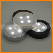 Tap Touch Night Light Mini Round 4 Led Push Touch Tap Battery Powered Night Light Buy Round Push Light 4 Led Night Light Battery Powered Touch Light Product On