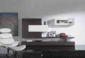 minimalist living room furniture. Divine Modern White Living Room Decoration With Dark Brown Entertainment Center Including Minimalist Furniture And