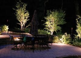 outdoor terrace lighting. Outdoor Garden Lighting Ideas : Sensational With Simple Design For Dining Room Terrace E