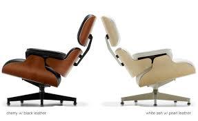 white ash eames lounge chair without ottoman