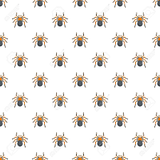 Tarantula Web Design Tarantula Pattern Seamless Vector Repeat For Any Web Design