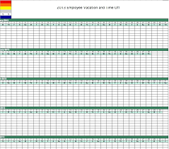 Vacation And Sick Time Tracking Excel Template Employee Time Tracking Excel Template Comicbot Co
