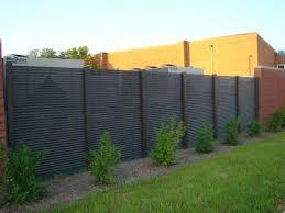Aluminum Privacy Fence ALUMINUM FENCE Aluminum Privacy Fence N