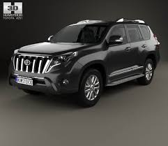 Toyota Land Cruiser Prado VXR 2016 3D model - Hum3D
