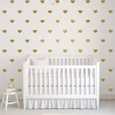 Heart Wall Decals, Girl Nursery Wall ...