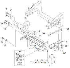 western unimount snow plow wiring diagram ford f 150 wiring 17124 mdii plus mount 97 04 f 150 f 250ld ford truckwestern unimount snow plow wiring