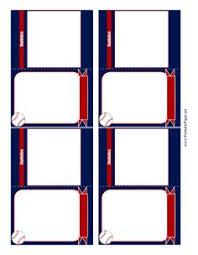 free trading card template baseball card templates free blank printable customize