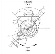 35259040 front dim drawing