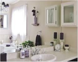 Inspiring Small Bathroom Design Ideas Wooden Vanity White Wash Basin