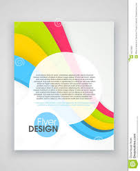professional brochure template or flyer design stock professional brochure template or flyer design