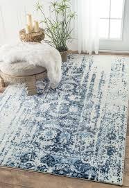 aqua rug blue for
