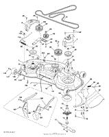 husqvarna yth2348 96045002701 2010 12 parts diagrams mower deck cutting deck