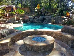Patio Ideas With Gas Fire Pit Blue Fire Patio Ideas With Gas Pit