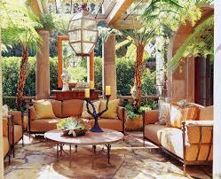 Interior:Living Room Connected Dining Room Mediterranean Style Interior  Design Idea Mediterranean Sunroom Design Idea