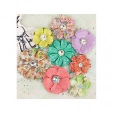 Buy Paper Flower Buy Prima Kindled Mulberry Paper Flowers Online In India