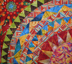 122 best Southwestern design quilts images on Pinterest   Quilt ... & close up, Cinco de Mayo by Beverly at Gina's Bernina. Southwestern colors.  Design Adamdwight.com