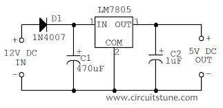 v to v dc dc converter circuit diagram circuitstune fig 12 volt to 5 volt dc converter circuit schematic
