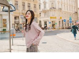 INMAN <b>2019</b> Autumn <b>New Arrival Cute</b> Contrast Lacing Young Girl ...