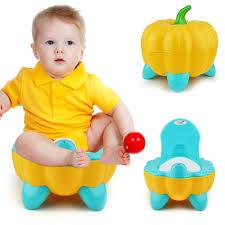<b>Cute</b> Training Pumpkin <b>Portable Folding</b> Chair Toddler <b>Baby</b> ...