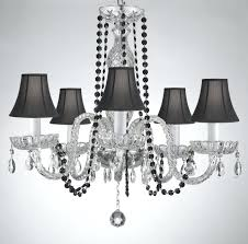 homemade crystal chandelier 5 crystal chandelier chandeliers lighting with black color crystal and shades diy crystal