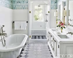 Cute minimalist bathroom design ideas Grey Elle Decor Bold Design Ideas For Small Bathrooms Small Bathroom Decor
