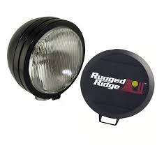 Fog Lights Oreillys Light Kit Hid 6 Inch Round Black Steel Housing