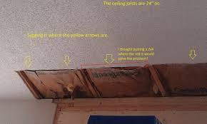 how to repair ceiling drywall.  Drywall Drywall Repairceiling1jpg  Intended How To Repair Ceiling U