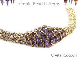 Spiral Beads Design Russian Spiral Stitch Beaded Necklace Pattern Jewelry
