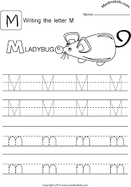 medinakids learn write-upper and lower case-letters/practice-letter- m