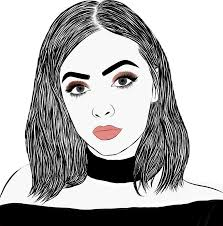 drawing lipstick woman kyliejenner kylie makeup