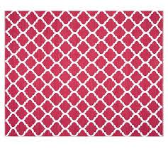 pottery barn indoor outdoor rug tile reversible indoor outdoor rug pink
