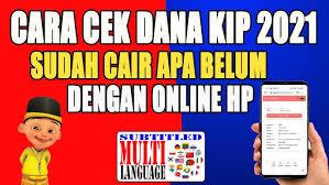 Maybe you would like to learn more about one of these? Cara Cek Kip Sudah Cair Apa Belum Secara Online Untuk Melihat Saldo Kip 2020 Kapan Cair Youtube