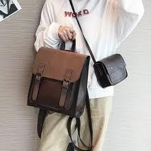 2018 england vintage genuine leather feminine designer backpack female schoolbag women mochila school bag bagpack sack urban