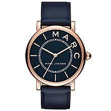 marc jacobs watches ernest jones marc jacobs ladies rose gold tone strap watch product number 6153607
