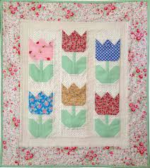 Tiny Tulips Pattern – Welcome Spring! | Quilting in the Rain & Tiny Tulips Pattern – Welcome Spring! Adamdwight.com