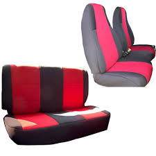 full size of innocessories jeep wrangler neoprene seat coves combo set fit for tj red rugged