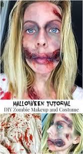 tutorial diy zombie makeup and costume
