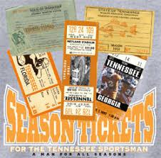 Tennessee Volunteers Football Seating Chart Tennessee Volunteers Football T Shirts Lifetime Sportsman